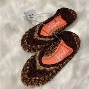 Poppy Crochet Shoes for Women Happeeness